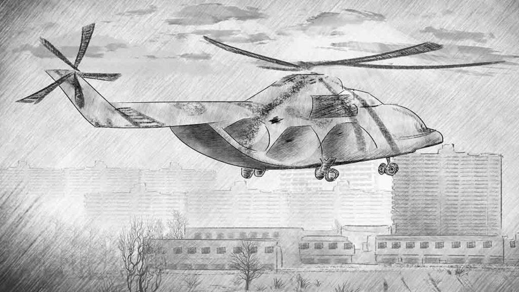 Chernobyl: last MI-8 flight