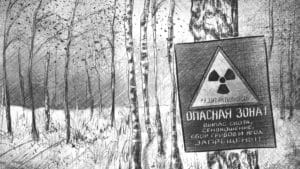 The brown bear is a symbol of Chernobyl