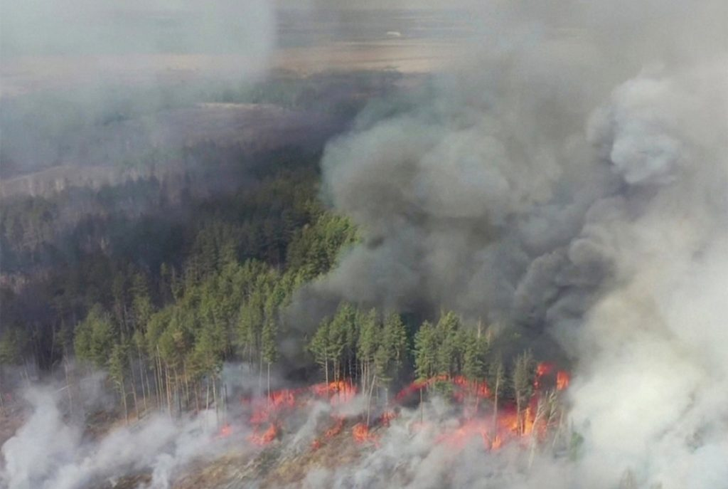 Chernobyl is burning: long-suffering Polesie is on fire again