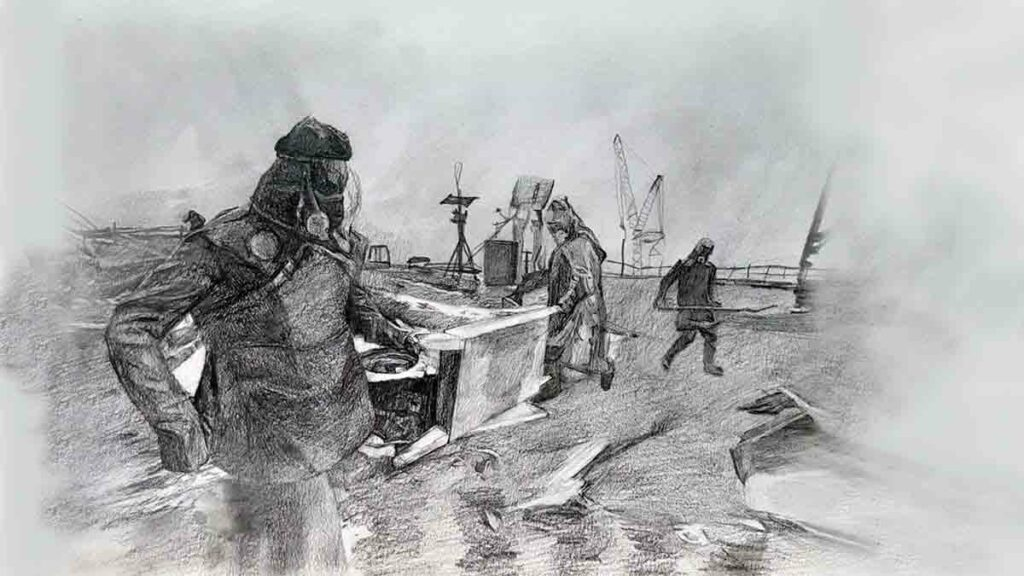 Japanese robots were replaced by volunteer guys at the Chernobyl NPP: the guys passed away a month later